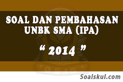 Download Soal dan Pembahasan UNBK SMA 2014 (IPA)