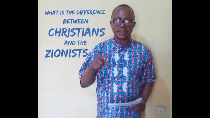 WHAT IS THE DIFFERENCE BETWEEN THE CHRISTIANS AND THE ZIONISTS?