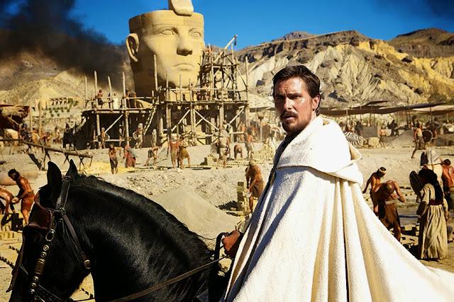 Christian Bale este Moise în prima imagine din filmul biblic Exodus
