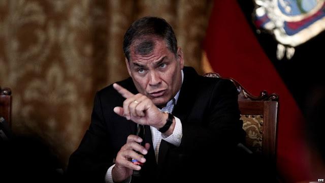 Rafael Correa autoritario