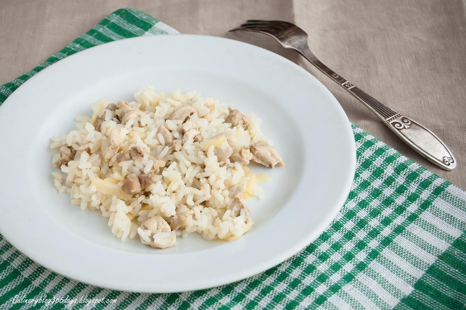 Диета из курицы риса и яблок