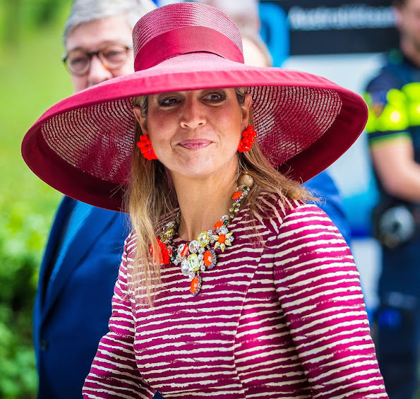 Queen Maxima attended a event for young people in Utrecht