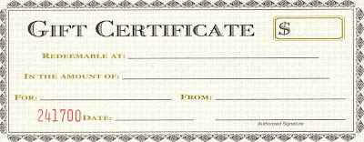 Printable Business Gift Certificate Templates Fgtrl