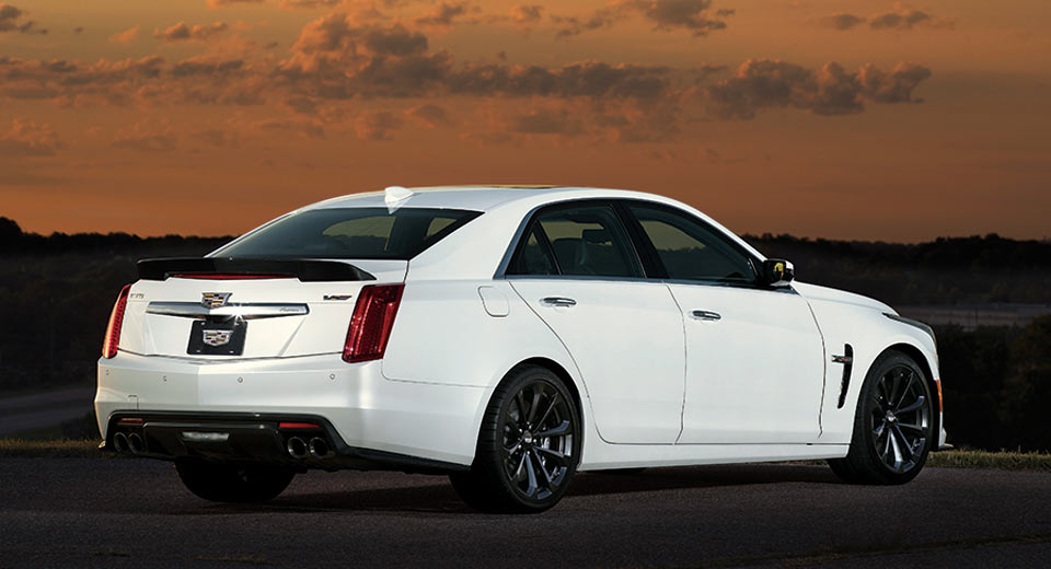 cadillac cts v carbon black package launches in japan. Black Bedroom Furniture Sets. Home Design Ideas