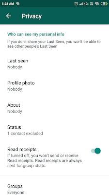 whatsapp setting technical bishnuji
