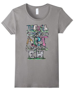the earth without art is just eh shirt for women men kids youth