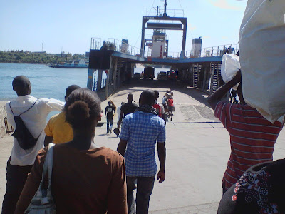 Likoni ferry users