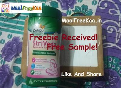 Free Sample Zandu StriVeda