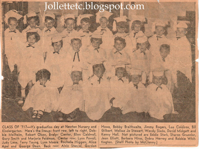Newton Nursery and Kindergarten graduation 1957