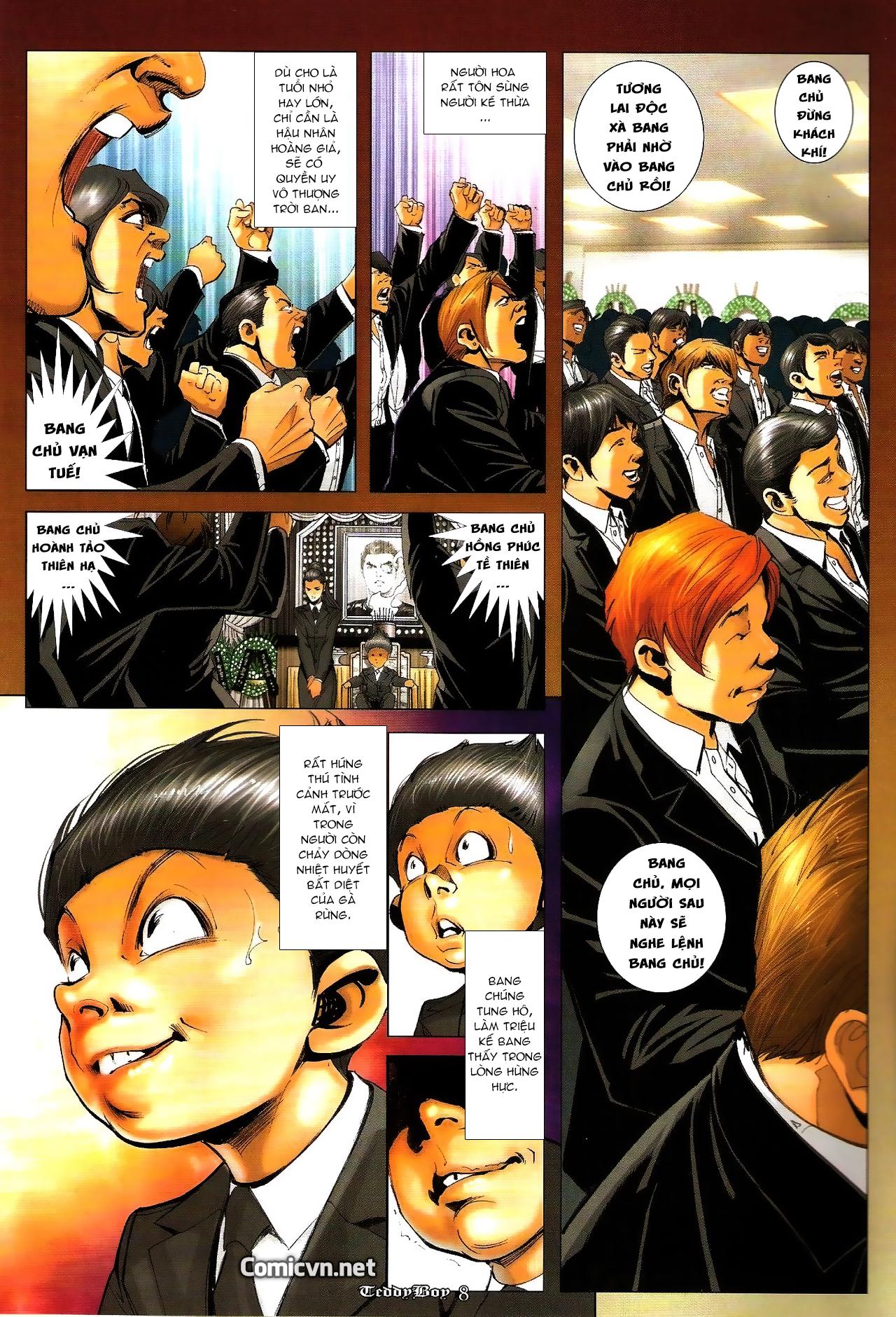 Người Trong Giang Hồ - Chapter 1277: Lam Kình nhượng vị - Pic 7