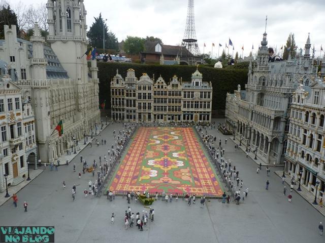 Atrações com miniaturas pelo mundo - Mini Europe, Bruxelas (Bélgica)