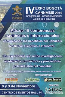 POS 4TA Expo Bogotá Cannabis 2019