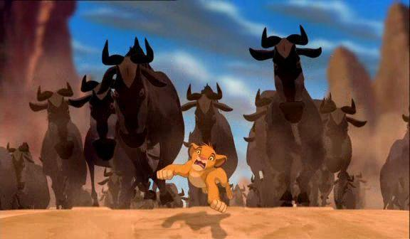 Movie Moment Monday - The Stampede