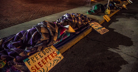 Attendance at City Hall Sleepouts Remains High