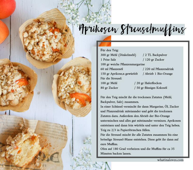 Aprikosen-Streusel Muffins