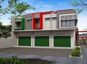 gambar rumah idaman: desain ruko 2 lantai minimalis modern