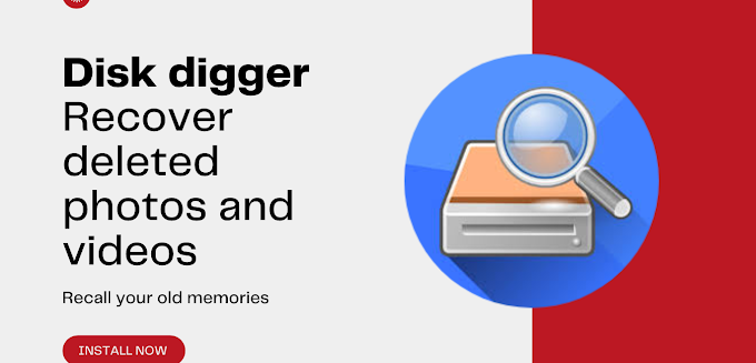 Disk digger - Deleted photo recover app