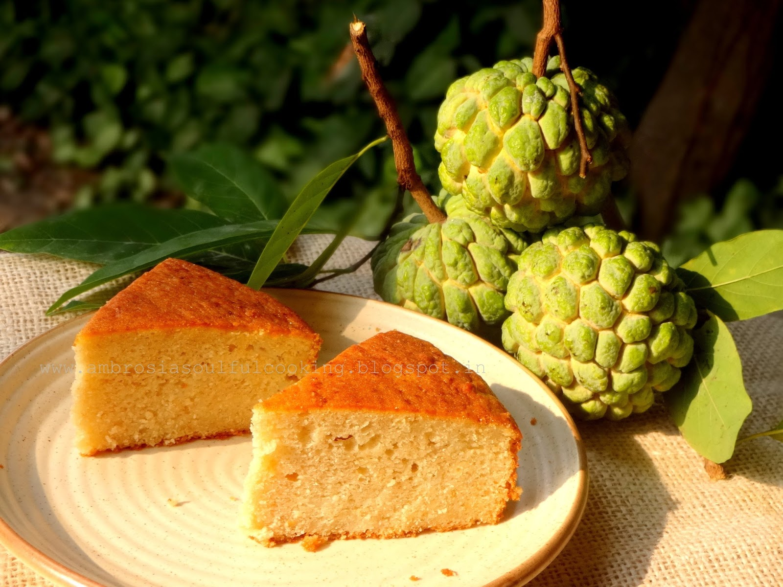 Custard Apple Cake Ambrosia