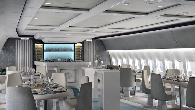 Viajes de lujo en el 1er crucero-avión de Crystal Cruises