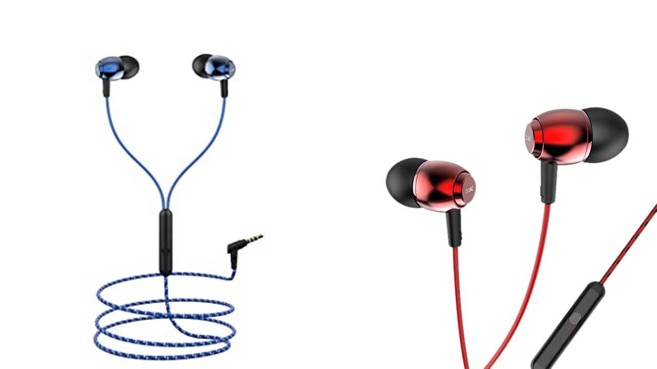 boAt Bassheads 162 earphones