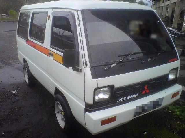 Mitsubishi Jetstar permorin minibus