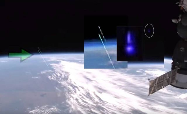 Was Something Fired From Earth Into Space?  UFO%2BAnomaly%2BISS%2BLive%2BFeed