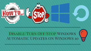 Disable Latest Windows Update in Windows 10 | Techiesmind
