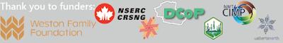 Multiple logos of funding agencies.