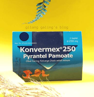 Konvermex 250 Tablet untuk Dewasa