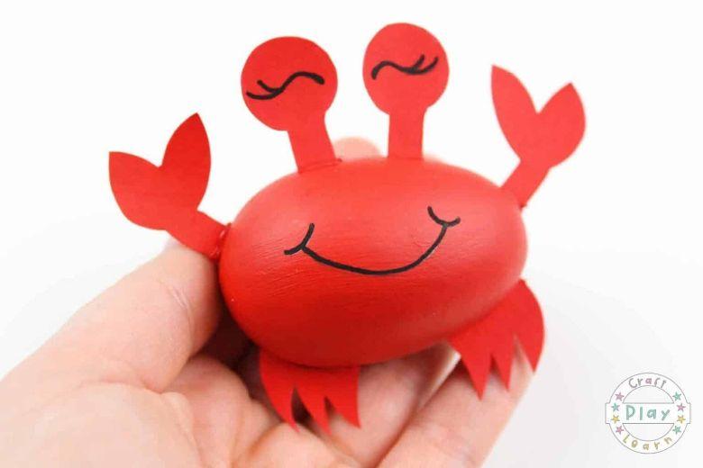 easy crab craft under the sea craft