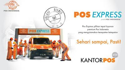 Layanan Pengiriman Pos Express PT. Pos Indonesia