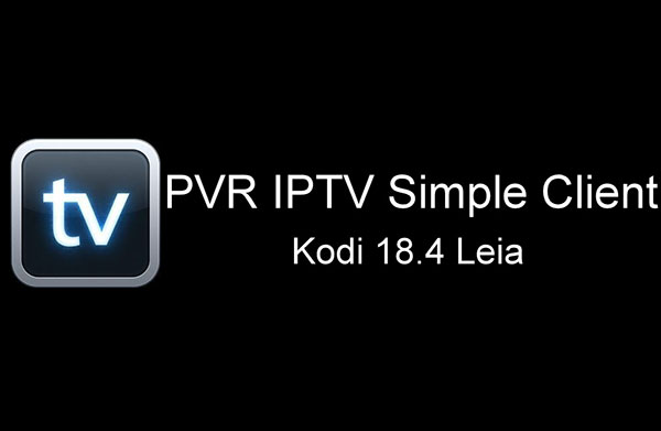 configure PVR Iptv simple client on kodi