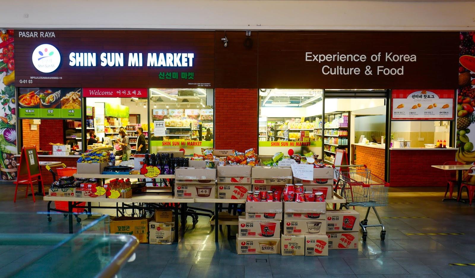shin sun mi market, sunway geo avenue