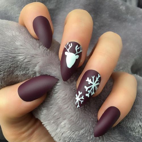 INCREDIBLE NAIL ART DESIGNS IDEAS FOR WINTER AND CHRISTMAS