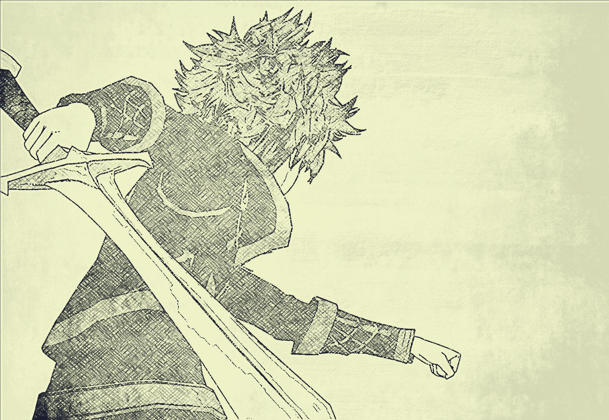 Showdown Sketch