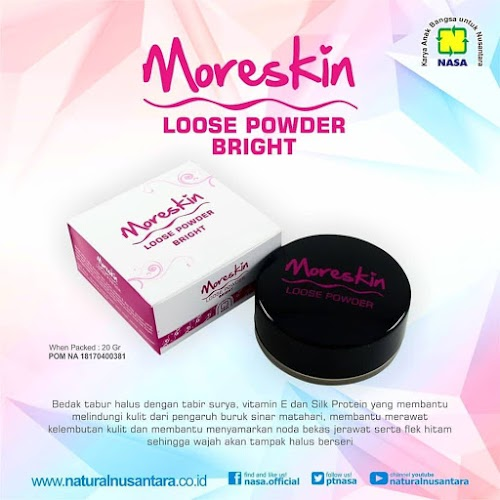 MORESKIN LOOSE POWDER TABUR