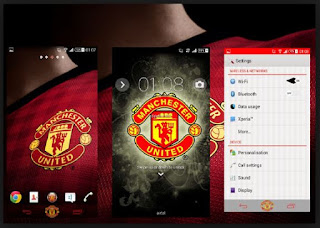 Tema Android Manchester United