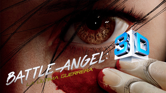 Battle Angel: La última guerrera (2019) 3D SBS Full 1080p Latino-Castellano-Ingles