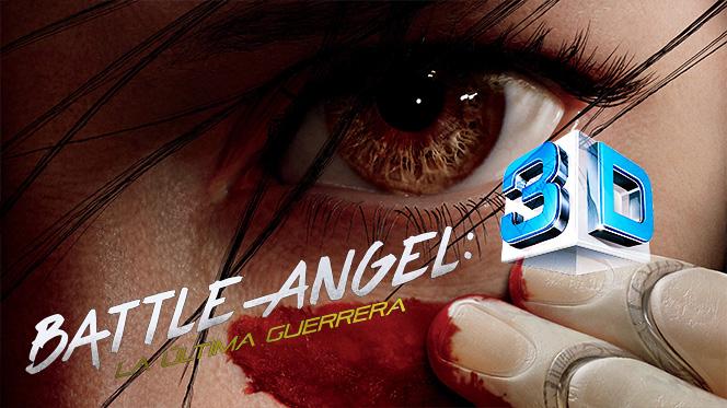 Battle Angel: La última guerrera (2019) 3D SBS Full 1080p Latino-Castellano-Ingles