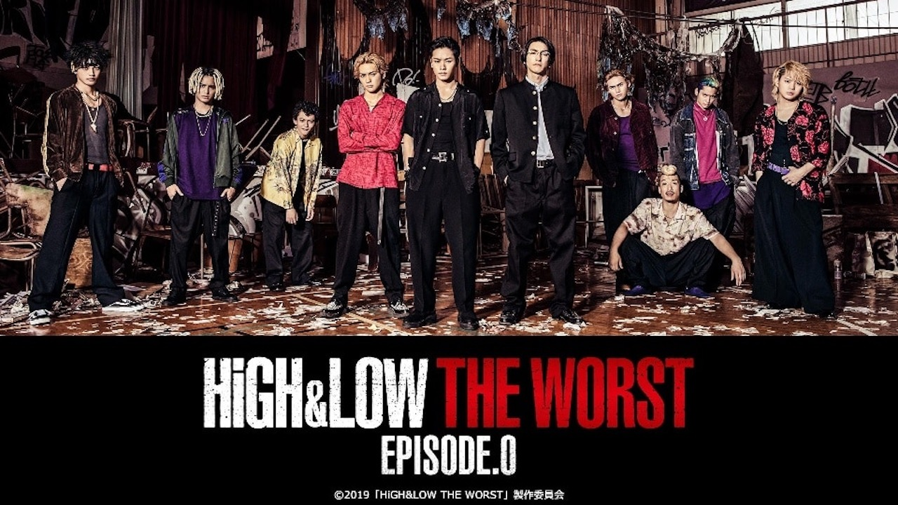 HiGH&LOW THE WORST EPISODE.0 Subtitle Indonesia Batch