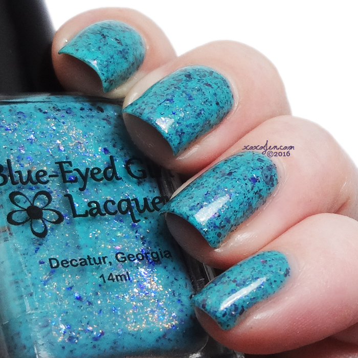 xoxoJen's swatch of Blue-Eyed Girl Lacquer - Merman, Pops, MerMAN