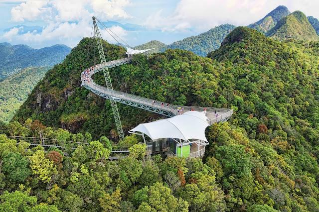 جسر لانكاوي سكاي Langkawi Sky Bridge