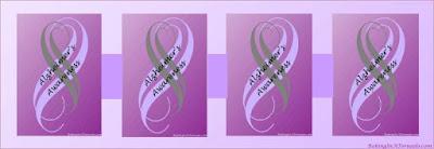 Alzheimer's Awareness | Graphic designed by and property of www.BakingInATornado.com | #MyGraphics #AlzheimersAwareness