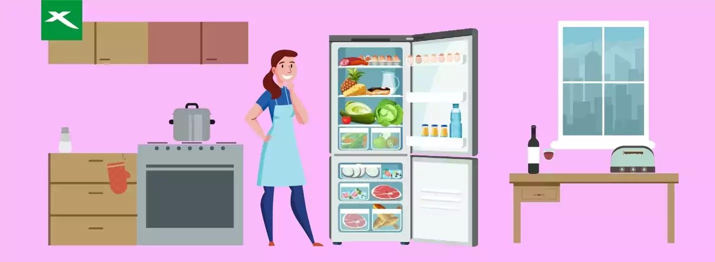 Your food storage also known as refrigerator should be kept clean