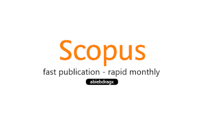 jurnal index scopus satu bulan terbit rapid monthly fast publication. anti journal predatory. Elsevier, taylor and francis, ISI thompson, Web of Science, cara cepat terbit jurnal di index scopus. abiebdragx.