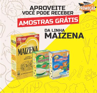 Amostras Grátis - Maizena ou Produtos da Unilever