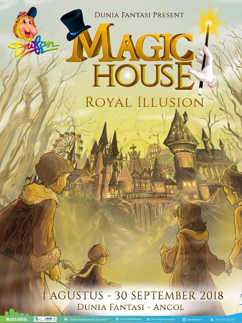 "Dufan menghadirkan Magic House ""Royal Illusion,"""