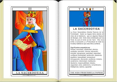 Cartas de Tarot / La Sacerdotisa