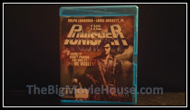 The Punisher (1989) blu-ray from Umbrella Entertainment