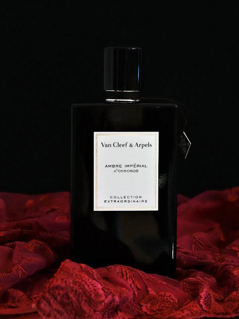 Ambre Impérial Van Cleef avis, avis ambre impérial van cleef arpels, parfum van cleef, parfum femme, parfum homme, collection extraordinaire, parfum à l'ambre, ambre impérial van cleef & arpels